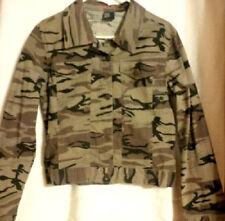 DESTINY - Camouflage Blazer Style Jacket - Junior's Size: LARGE