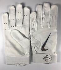 Men's Nike Huarache Elite Batting Glove All White XL New