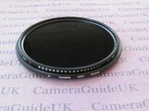 67mm Neutral Density Fader Variable Lens Filter ND2 to ND400