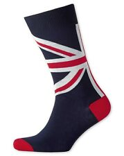 Men's Charles Tyrwhitt New Navy Union Jack Socks British (M) UK6-10 EU39.5-44.5