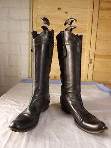 Gianni Barbato Cowboy Stiefel aus Leder in Gr. 38  NP über 400 €
