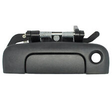 Outside Back Door Handle - Tailgate Rear Exterior - Black, Textured