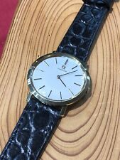 Genuine 18kt Yellow Gold Omega Watch