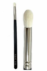 R&M 516 Oval Pointed Small Eye Crease Brush
