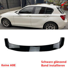 Fit Für BMW 1er F20 1 Series Dachspoiler Heckflügel Heckspoiler Tuning Schwarz