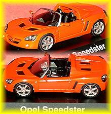 Opel Speedster 2000-05 arancione metallizzato 1:43 Schuco