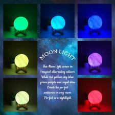 3D Magical Moon Lamp LED Night Light Moonlight