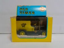CSSR Czechoslovakia IGRA Old Timer 02-E Praga Charon Postovni Postvan MIB OVP
