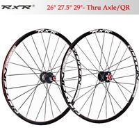 Mountain bike Carbon hub wheels 26/27.5/29 Front Rear wheelset 25mm rim Clincher