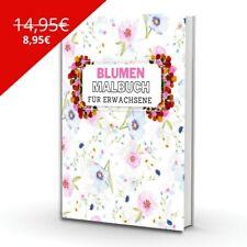 Blumen Malbuch für Erwachsene - ...