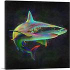 ARTCANVAS Shark Fish Shortfin Mako Tiger Ocean Sea Canvas Art Print