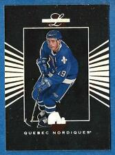 1994-95 Leaf Limited JOE SAKIC (ex-mt) Quebec Nordiques
