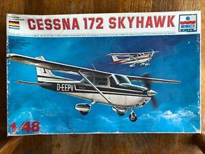 ESCI-ERTL 1/48 CESSNA 172/ T-41 Aircraft Model NEW - Opened Box