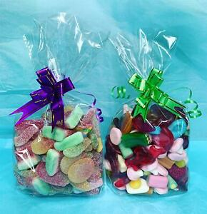 Pic N Mix Sweet Party Bags Cellophane Fizzies Jellies 500g Birthday Treats