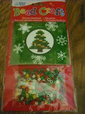 Baker Ross Christmas Iron on Bead Craft Kit Christmas Tree Stocking Filler