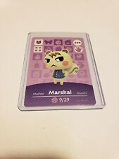 Marshal # 264 Animal Crossing Amiibo Card Series 3 MINT NEVER SCANNED RARE!!!