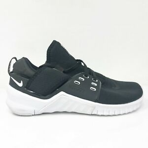 Nike Womens Free Metcon 2 CD8526-002 Black Running Shoes Lace Up Size 6.5