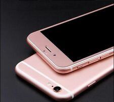 3D FULL COVER iPhone 6 iPhone 6S Panzerglas Panzerfolie Rosé Rosa Pink 2,5D Glas
