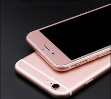 3D FULL COVER iPhone 6 6S Rosa Rose Panzerglas Display Folie Schutz Rosé i6