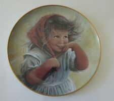 """Sue Etem """"Wendy"""" Limited Edition Collector Plate 1982 New"""