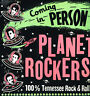 """THE PLANET ROCKERS - COMING IN PERSON (Re-Issue 12"""" VINYL LP)(Modern ROCKABILLY)"""