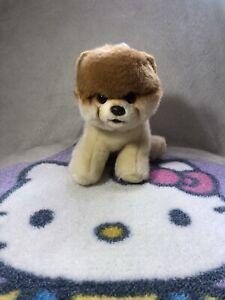 """Gund Boo Pomeranian Stuffed Animal Plush Dog 4029715 world's cutest 10"""" cream"""