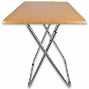 HEAVY DUTY - MDF Portable TV Side Dinner Laptop Tray Folding Table Study Desk