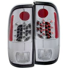 ANZO LED TAIL LIGHTS CHROME FOR 97-07 F150/250 LIGHTDUTY F250/F350 SUPERDUTY