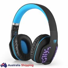 Bluetooth 4.1 Headphones Mobile Gaming Headset for iPhone PDA Pad Android PSP PC