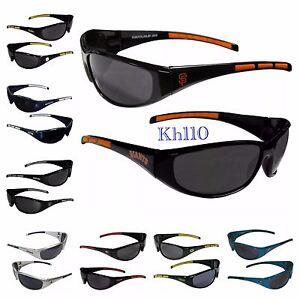 NFL/MLB/NHL Team UV400 3dot Wrap Style Sunglasses