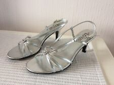 Ladies Lotus Silver Shoes size 3