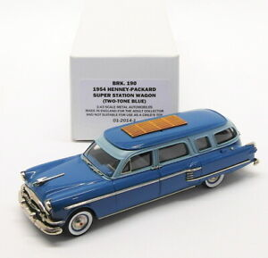 Brooklin Models 1/43 Scale BRK190  - 1954 Henney-Packard Super Station Wagon