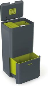 Joseph Joseph Totem 60 Litre Intelligent Waste Separation & Recycling Graphite