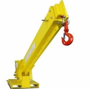 Titan Attachments Forklift Adjustable Mobile Crane Lifting Hoist Truss Jib Boom