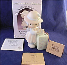 Precious Moments Enesco YOU WILL ALWAYS BE MY CHOICE Members Only Figurine Box