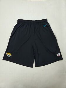 Nike Dri-Fit Jacksonville Jaguars NFL Workout Gym Shorts Size Large