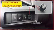 TOYOTA HILUX REVO 15-17 Dual USB port 2.1A Power Adapter charger smart phone