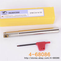 Dia.16mm*15mm SHK*160mm Length Round Insert End Mill Cutter for RPMW0802 Insert