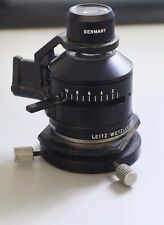 MICROSCOPE PART LEITZ GERMANY CONDENSER + IRIS 562210 OPTICS AS IS