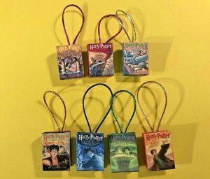 Harry Potter Inspired Ornament 7 Book Set