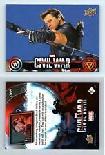 Hawkeye #CW19 Captain America Civil War 2016 Upper Deck Walmart Trading Card