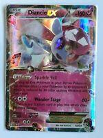 Diancie EX ULTRA RARE 72/124 XY Fates Collide Pokemon card TCG NM HOLO