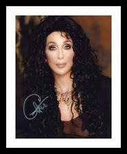 CHER AUTOGRAPHED SIGNED & FRAMED PP POSTER PHOTO D