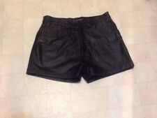 KOOKIE Leather Shorts