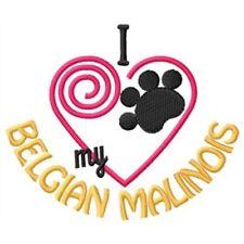 "I ""Heart"" My Belgian Malinois Long-Sleeved T-Shirt 1286-2 Size S - XXL"