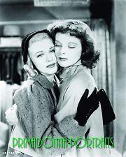 """KATHARINE HEPBURN & GINGER ROGERS 8x10 Lab Photo 1937 """"STAGE DOOR"""" Movie Still"""