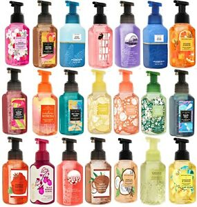 Bath and Body Works Authentic Hand Soap Foaming, Cleansing NEW 72 Scents Choose