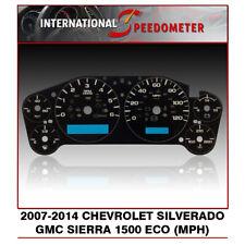 2007 - 2014 Chevrolet/GMC Silverado/Sierra/1500 ECO Speedometer Faceplate (MPH)