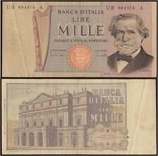 1000 LIRE 11/3/1971 GIUSEPPE VERDI 2° TIPO