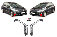 FOR PEUGEOT 308 11 - 14 NEW FRONT BUMPER DRL COVER GREY/SILVER PAIR SET